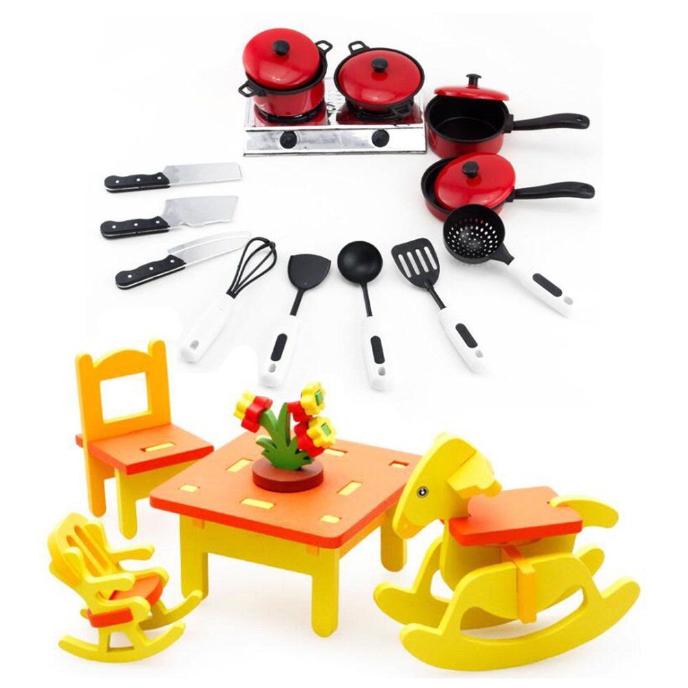NOQ Children's Toys/ Tableware and Chairs/ DIY Children's Educational Toys