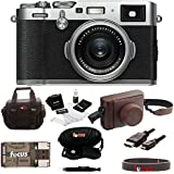 Fujifilm X100F Digital Camera with Fuji Brown Leather Case