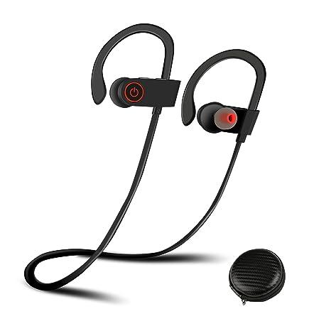 Auriculares Bluetooth Correr, Ballery Auriculares Bluetooth 4.1 Cascos inálambrico Deportivos In-Ear Para hacer