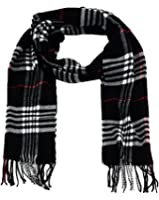 SethRoberts Unisex Winter Scarf (Double Layer Knit)