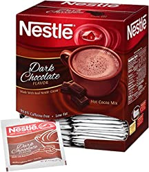 Nestle Hot Cocoa Mix, Dark Chocolate, 0.71-Ounce Packages (Pack of 300