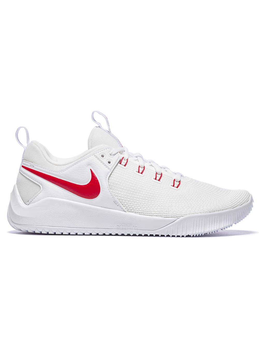 bac877ca689670 Galleon - Nike Women s Zoom HyperAce 2 Training Shoe White University Red  Size 7 M US