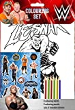wwe coloring - WWE Colouring Set