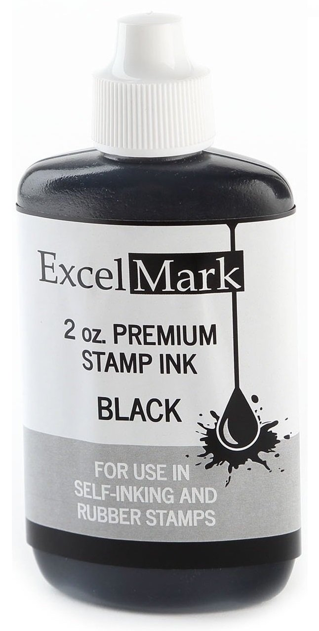 ExcelMark Premium Stamp Ink, 2 oz