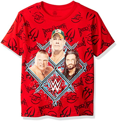 wwe-little-boys-john-cena-t-shirt-shirt-red-print-4