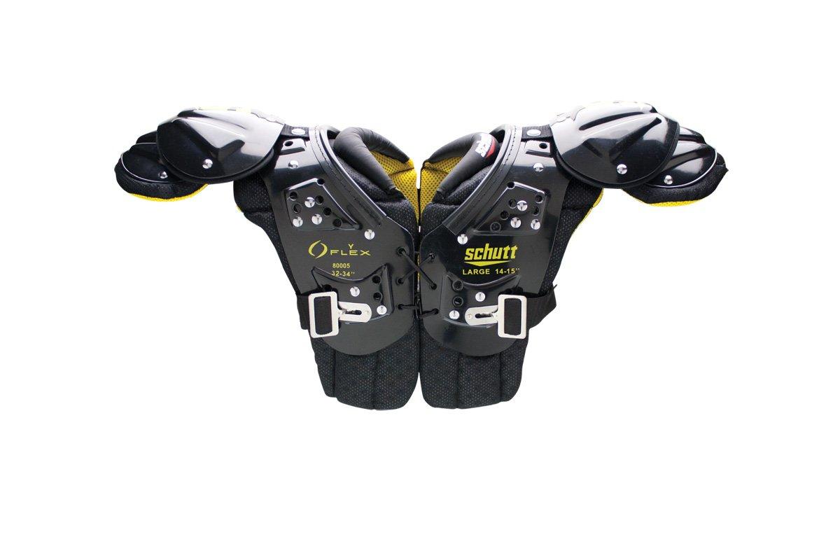 Schutt SportsユースFlex 2.0すべて目的肩パッド B00CMJKP6Q  X-Large