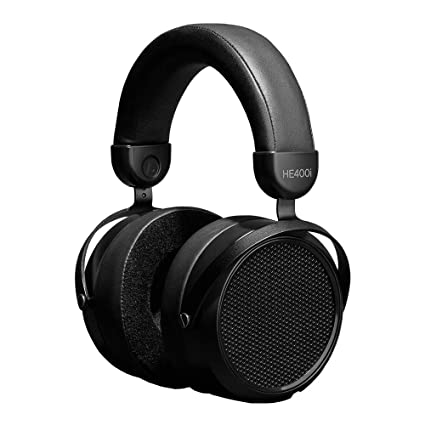 Hifiman HE400i 2020 Version Full-Size Over-Ear Planar Magnetic Professional Headphones with Enhanced Headband, 3.5mm Connector, for Audiophiles, Stereo-Black
