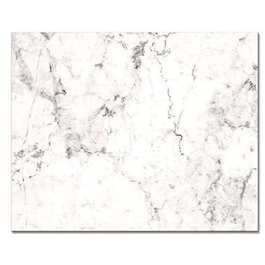 CounterArt 'White Marble' Glass Cutting Board, 15 x 12