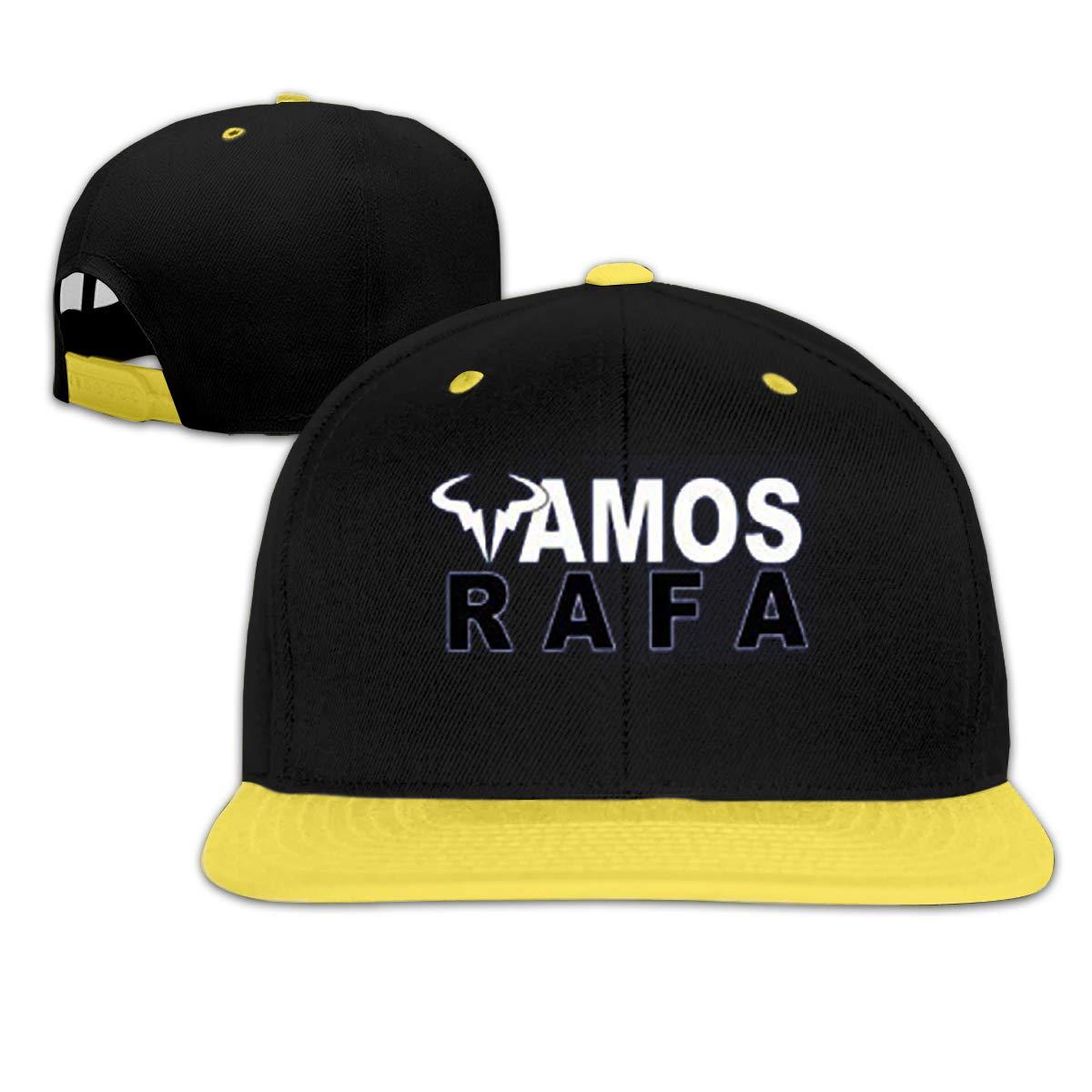 JJHH SHOP Rafael Nadal Vamos Childrens Boy Girls Contrast Hip Hop Baseball Caps Denim Hats