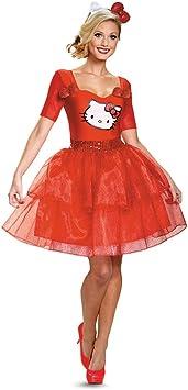 Disfraz Mujer de Hello Kitty para adulto disfraz - Multi -: Amazon.es ...