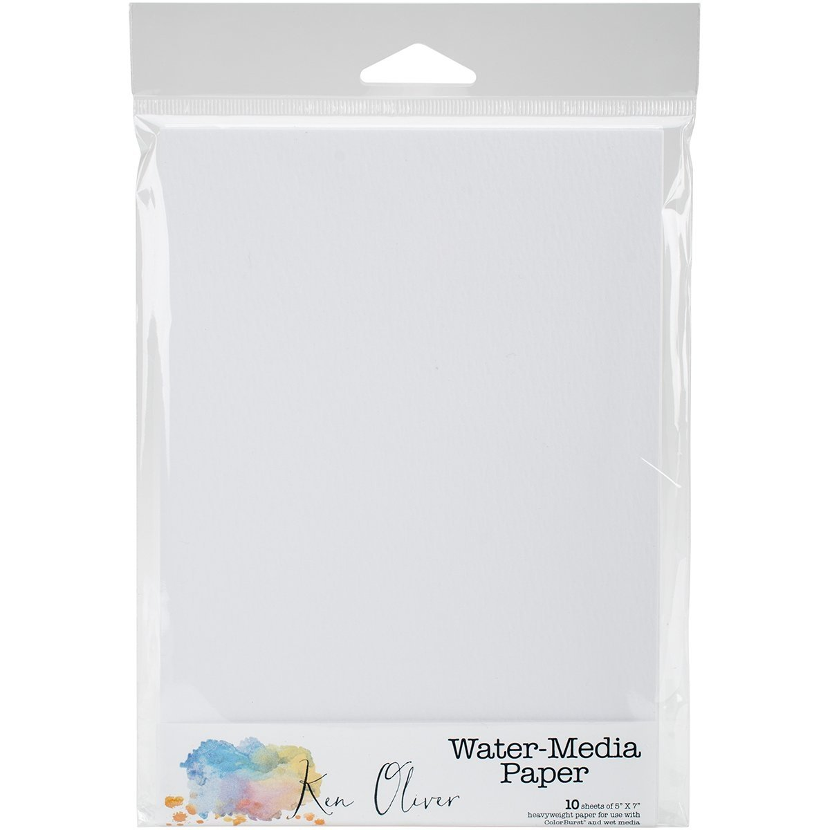 Canvas Corp KNO4504 Ken Oliver Water Media Paper 5X5 10/Pkg