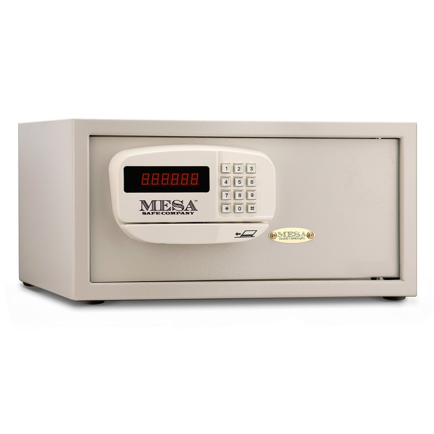 Mesa Safe Company Model MHRC916E Residential and Hotel Electronic Burglary Safe, Cream by Mesa Safe