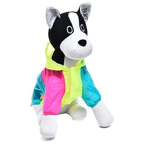 XACQuanyao Color Brillante Cachorro Gato Perro Ropa Suave Mascotas Protector Solar Aire Acondicionado Ropa Mascota Punto