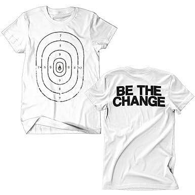 9a3dfbe9 Amazon.com: Thousand Foot Krutch Men's Be The Change T-Shirt White ...
