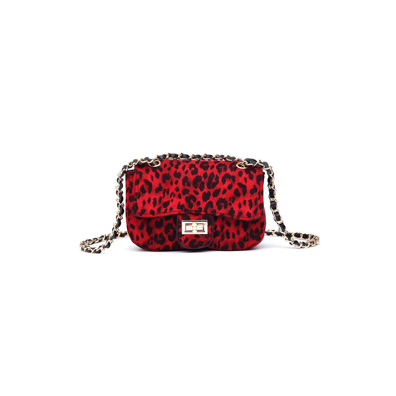 Mini Handbag Lock Leopard...