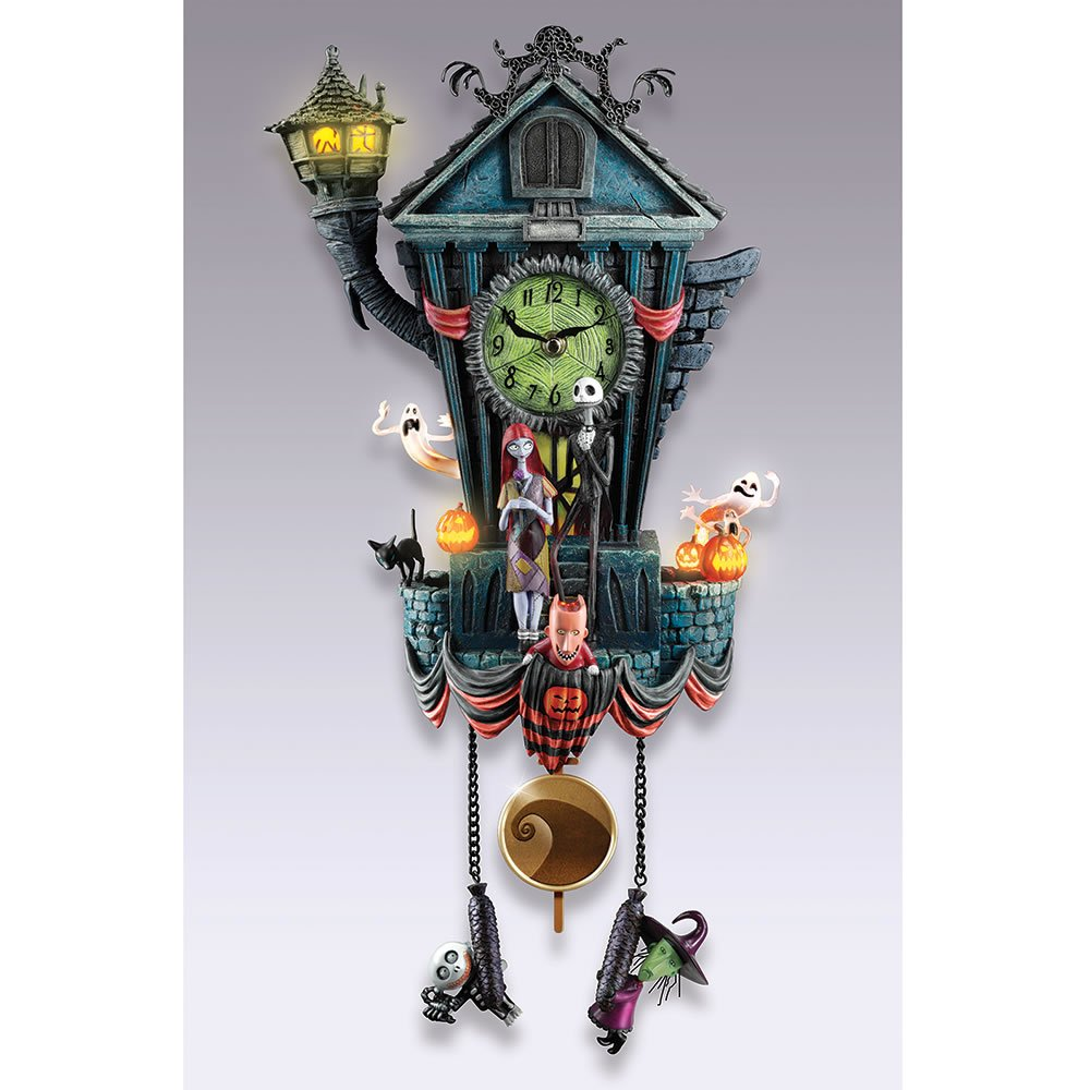 Hammacher Schlemmer The Nightmare Before Christmas Cuckoo Clock Knowles