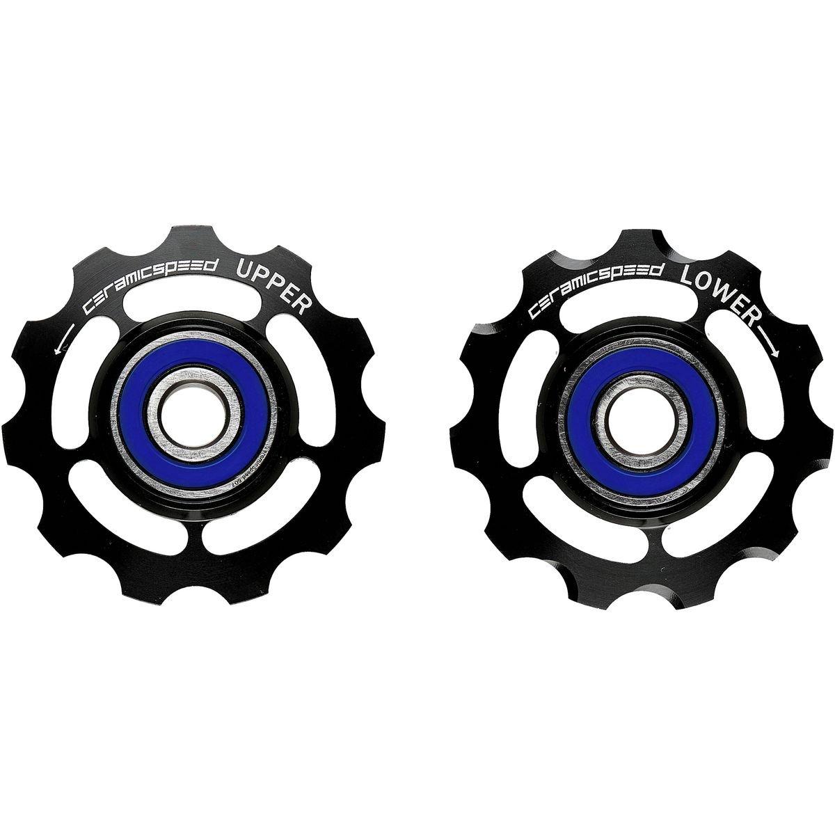 CeramicSpeed 11速度アルミニウムプーリホイール B00VVW7DPG SRAM, 11 Speed|ブラック ブラック SRAM, 11 Speed