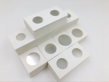 100 Bulk Cardboard Flips 2x2 Coin Holders SMALL DOLLAR New FREE SHIPPING