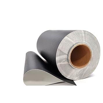 Black Metro 3D Flexible Carbon Fiber Vinyl Wrap Film 48