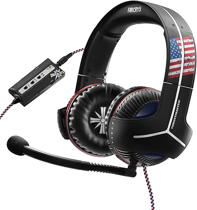 Thrustmaster - Auriculares Y-300CPX Far Cry 5 Edition (PS4, PS3 ...