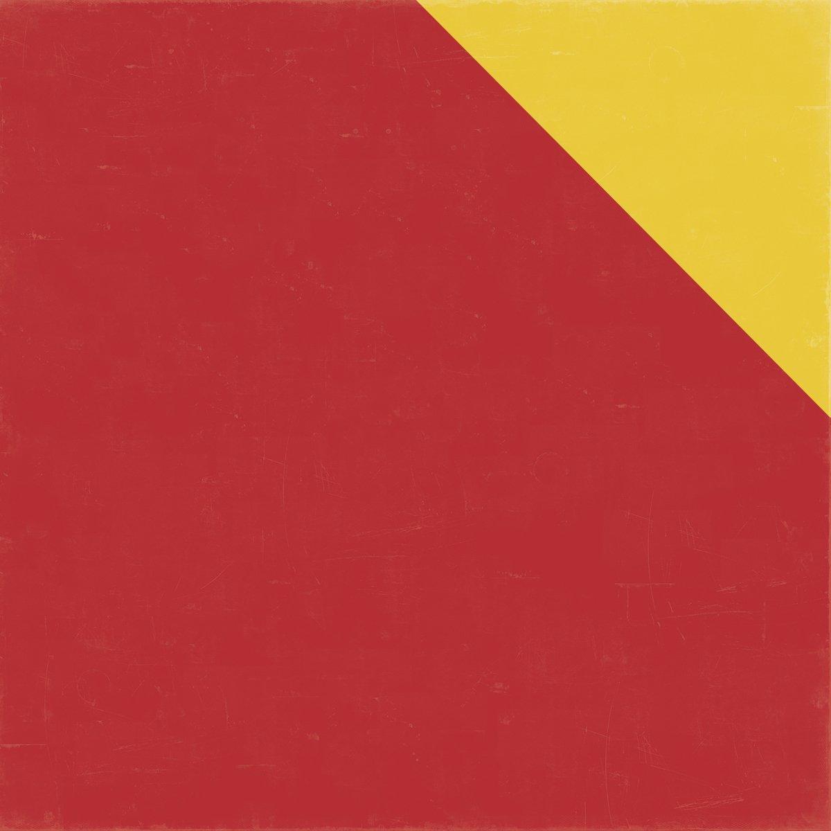 Echo Park Paper Bark massiv Distressed Karton 12 Zoll x 12 Zoll rot gelb, Acryl, Mehrfarbig B017GKAEL6 | New Products