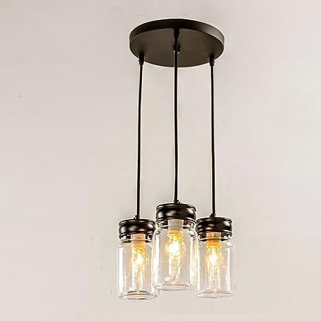 mason jar lighting fixture. EFINEHOME Classic Mason Jar Lighting, 3 Light Black Vanity Light With Clear  Glass Mason Jar Lighting Fixture B