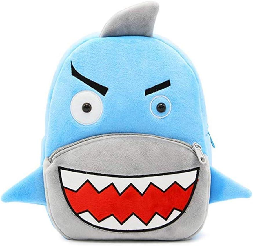 2-5 Ans pour Enfants Requin Unisexe pour Tout-Petit Enfants gar/çons Filles Sac d/école Sac /à Dos Dessin anim/é Animaux Mignons Enfants