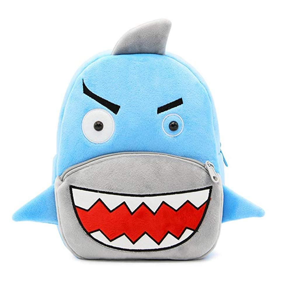 2-5 Ans Unisexe Sac d/école Sac /à Dos Dessin anim/é Animaux Mignons Requin Enfants pour Tout-Petit Enfants gar/çons Filles pour Enfants
