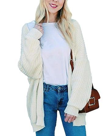 b12a735da6 2018 New Women s Oversized Cardigans Open Front Sweaters Autumn Sweater Coat