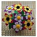 ハンドメイドHandmade Flower Pots Potted母の日ギフトおもちゃDIYハンドメイドchildren-sxh