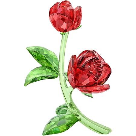 Swarovski Red Rose Clear