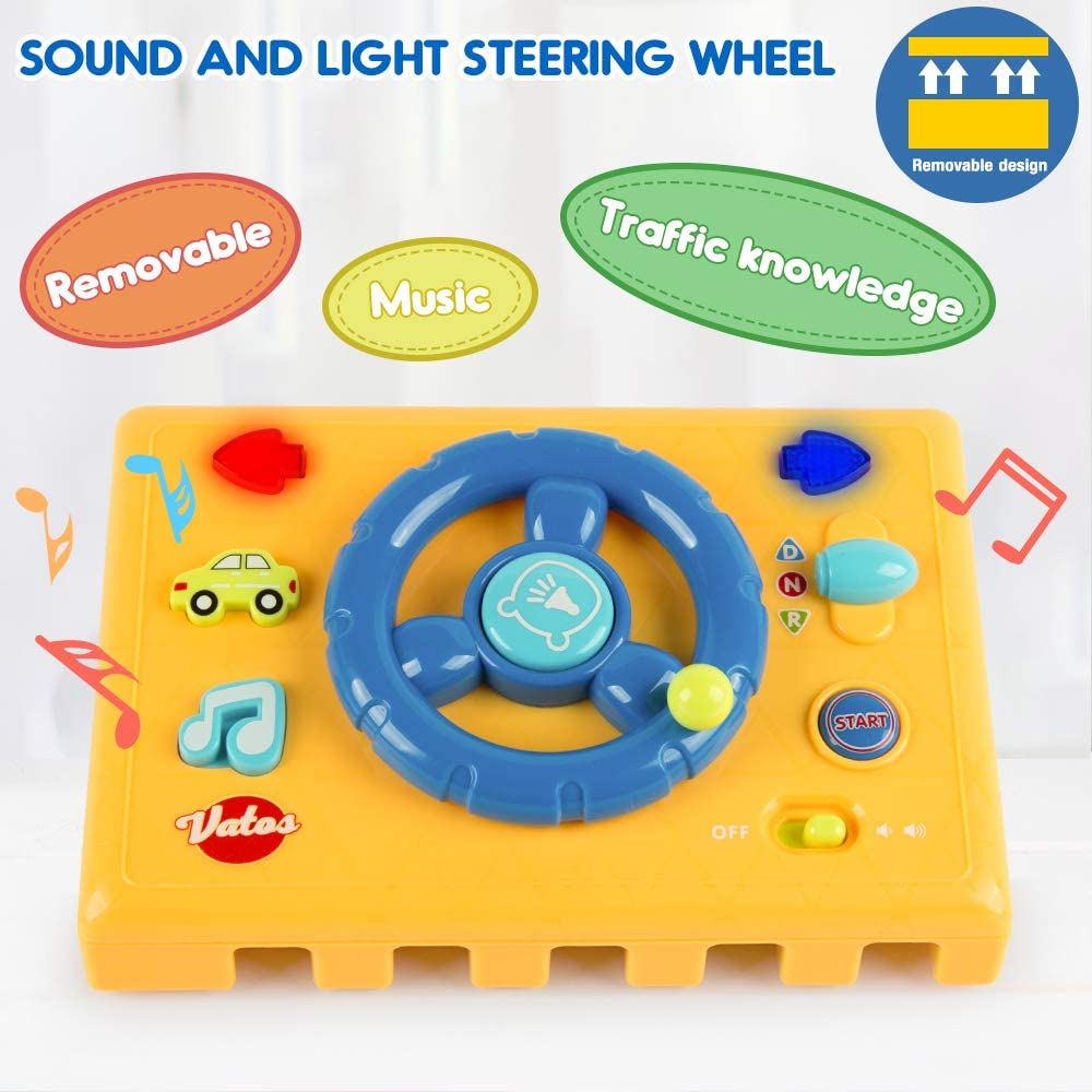 Race Car Ramp Track,Toddler Toys,Educational Cars Toys for 1 2 3 Years Old Boy and Girl Great Gift as Toddler Boy Toys VATOS 5-in-1 Activity Cube toys