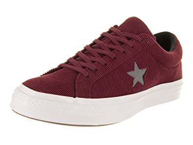 d47cd9ee65c1 Converse Unisex One Star Ox Dark Burgundy Mason Casual Shoe 8 Men US   10
