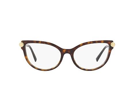 Amazon.com: Versace V-ROCK VE3270Q - Marco para gafas (108 ...