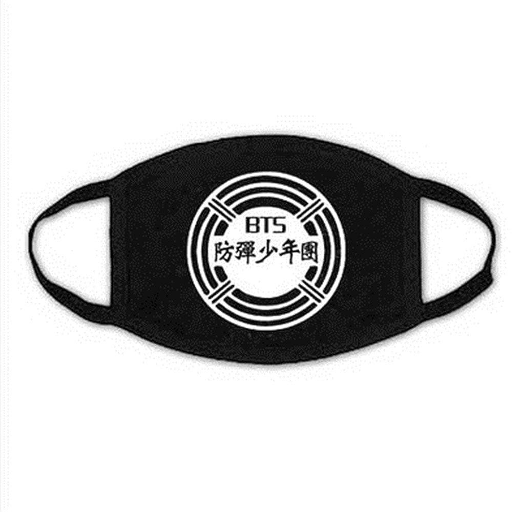 Kpop BTS Mouth Mask Jimin V SUGA J-Hope Rap-Monster Face Respirator