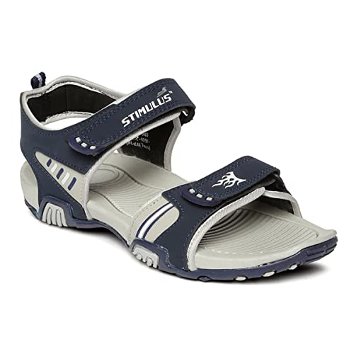 515a3a0e9838 PARAGON Stimulus Men s Grey Sandals  Buy Online at Low Prices in India -  Amazon.in