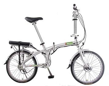 Beixo bicicleta eléctrica plegable con cardan - Electra Silver