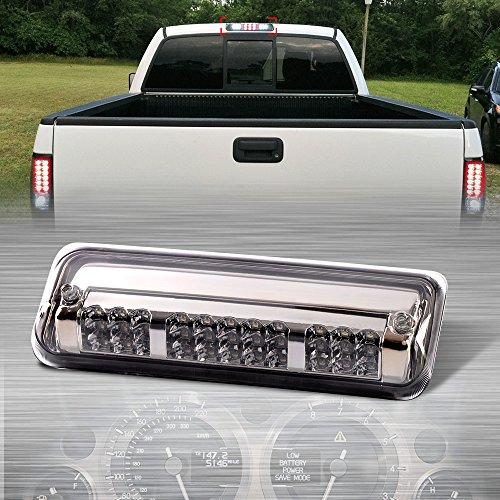 Cargo Led Tail Light Lamps For 2004-2008 Ford F150/Explorer Chrome Housing Rear 3rd Third Brake Light