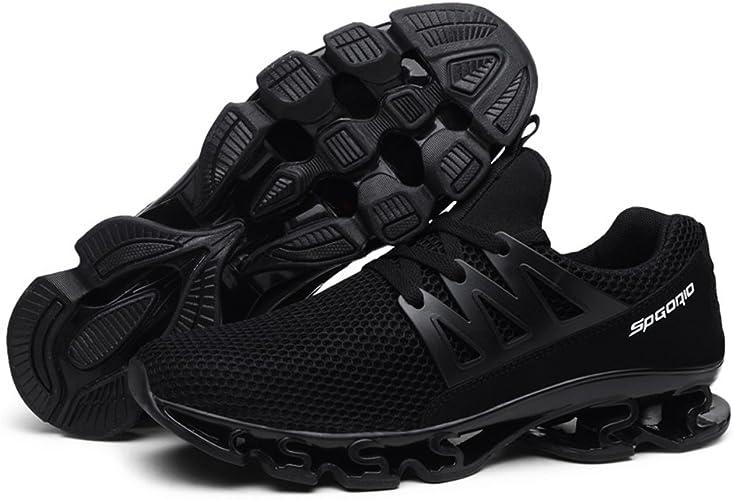 Zapatillas Deportivas Hombre Sport Mesh Slip en Transpirable Trail Runners Zapatillas de Deporte Athletic Springblade Walking Zapatillas Grandes: Amazon.es: Zapatos y complementos