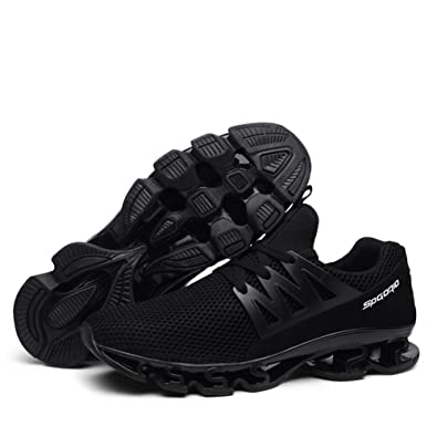 Zapatillas Deportivas Hombre Sport Mesh Slip en Transpirable Trail Runners Zapatillas de Deporte Athletic Springblade Walking Zapatillas Grandes: Amazon.es: ...