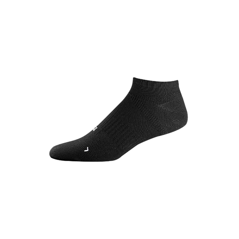 FootJoy Golf Socks for Men (Tour Compression, TechSof Tour, ProDry) (Tour Compression Low Cut, Black, 12522) by FootJoy