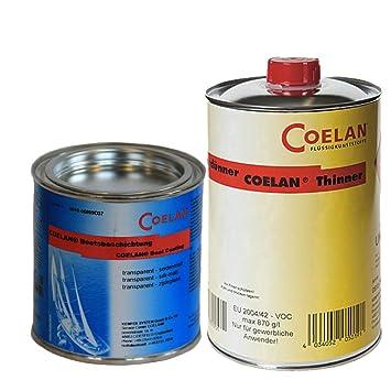 Coelan Bootsbeschichtung transparent 375 ml matt V1C15