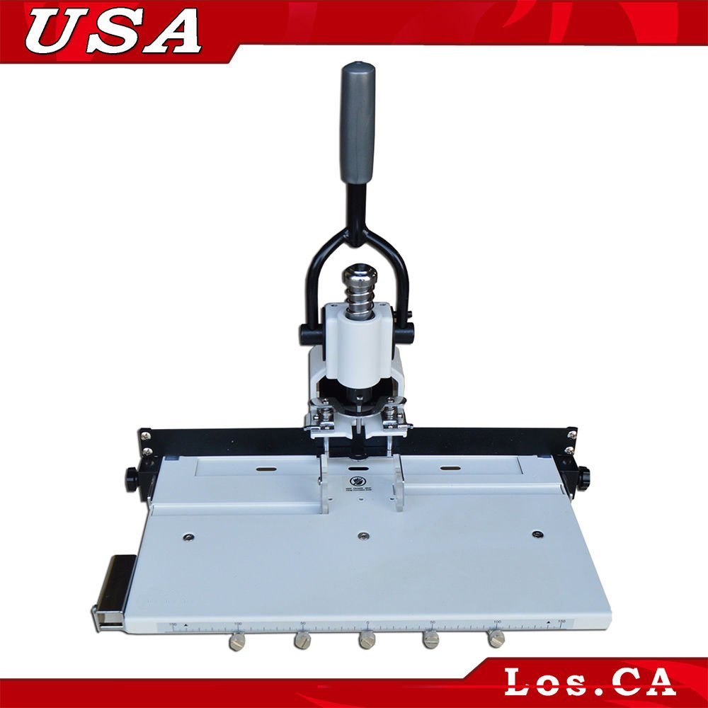 """Amazon.com : Paper Hole Drill Punch Machine 1/4"""" 6mm Hole 300 Sheets Two  Cut Die Moulds : Office Products"""