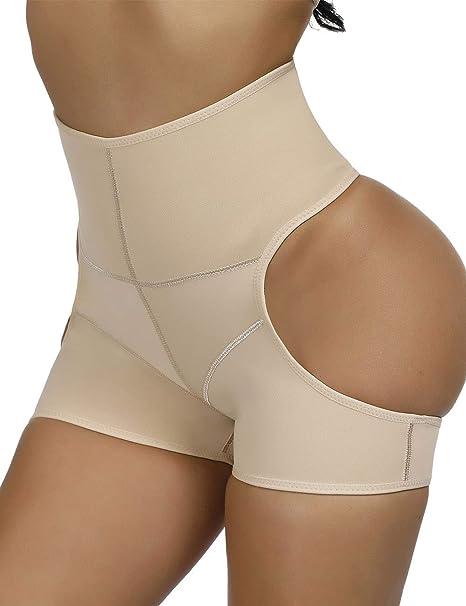 1cb9c9f0d Wonder-Beauty Womens Shapewear Butt Lifter Control Panties Tummy Control Body  Shaper Seamless Open Butt