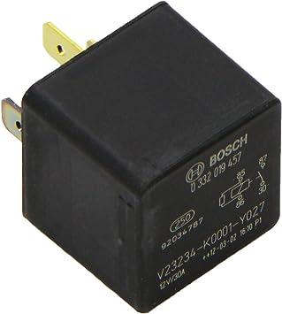Bosch 0332019457 Mini Relais 12v 30a Ip5k4 Betriebstemperatur Von 40 Bis 100 Schließer Relais 4 Pins Auto