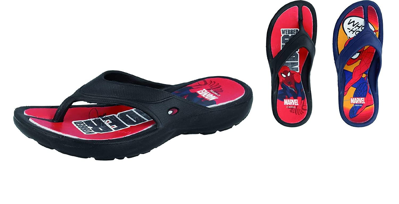 DE Fonseca Kids Rubber sea Shoes for Spider Men Blu