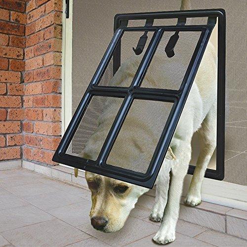 K&L Pets Dog Door Screen Door For Medium/Large dog