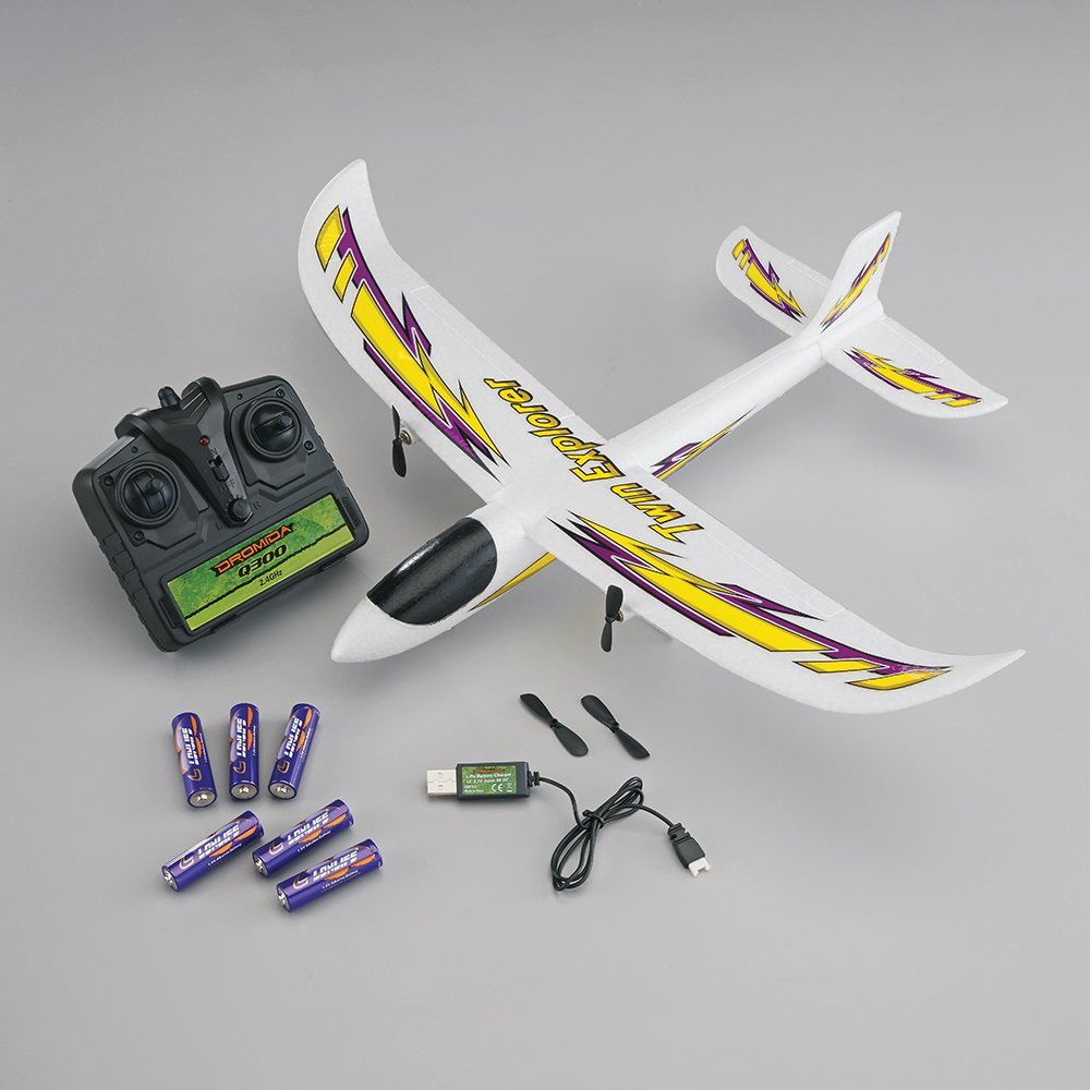 The Rc Plane Sound System Mr V4 Multi Engine Pack Buy Dromida Twin Explorer Motor Radio Controlled Electric Powered Glider Airplane White Yellow Purple Online At Low Prices In India
