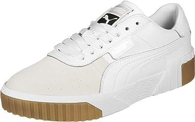 puma cali nubuck wn's sneakers basses femme