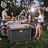 U-MAX 44in Outdoor Propane Gas Fire Pit